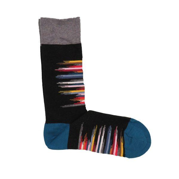 Privato K43 Unisex κάλτσα μαύρη 3