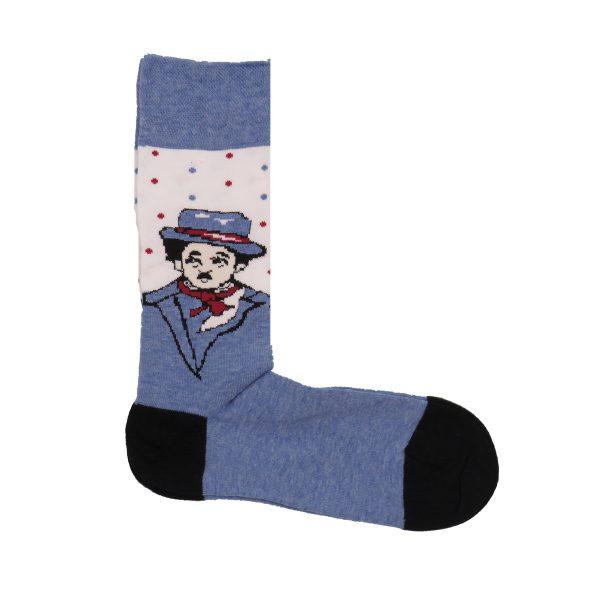 Privato K61 Unisex Κάλτσα Σιέλ 3