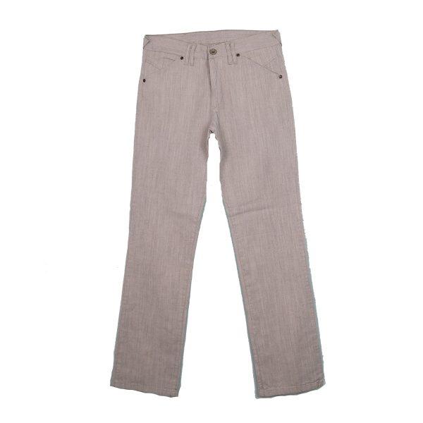 J.M.G 50 Ανδρικό παντελόνι Γκρί Ανοιχτό 3
