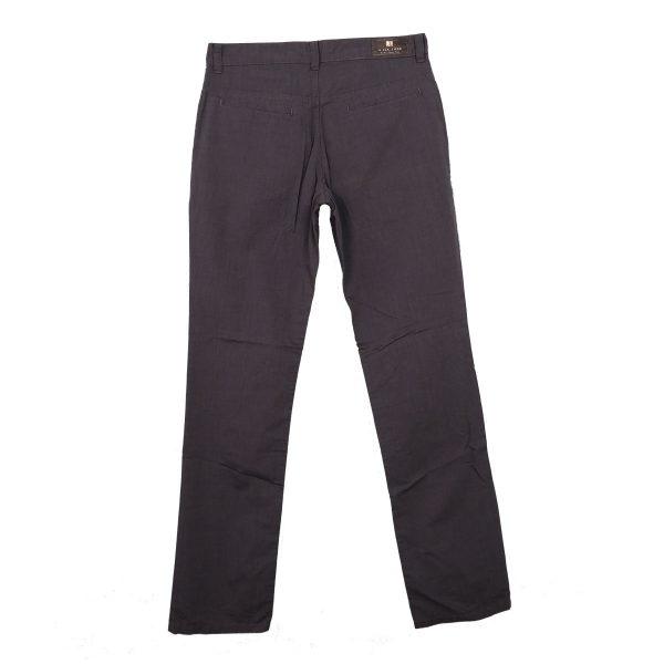 Hi Jack Μ300 Ανδρικό Παντελόνι Γκρί Σκούρο 4