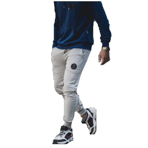 Body Max 7003 Ανδρικό παντελόνι Φόρμας φούτερ Γκρί Ανοιχτό 3