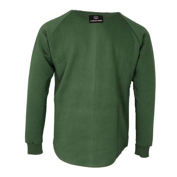 Cotton 4All 21-133 Ανδρικό Φούτερ Πράσινο 4