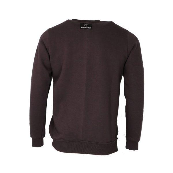 Cotton 4all 21-905 Ανδρική Μπλούζα Φούτερ Γκρί σκούρο 4