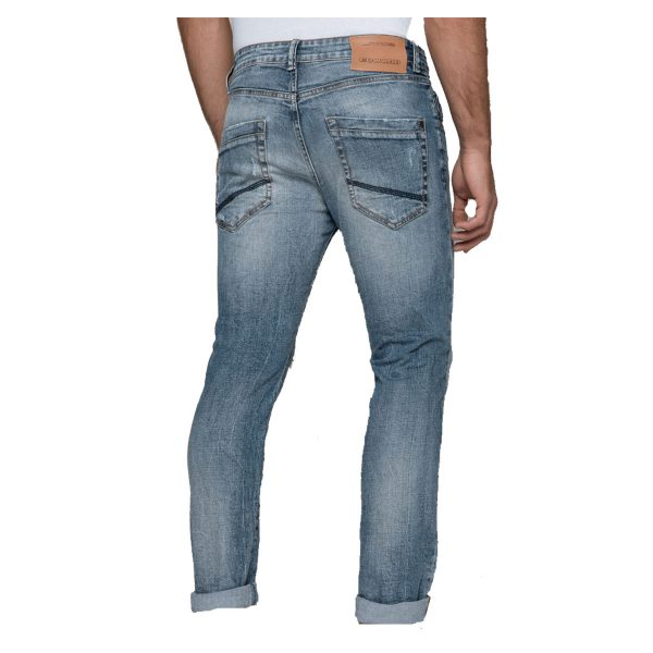 EDWARD JEANS MP-D-JNS-S20-CONWAY-JAP Ανδρικό Παντελόνι Τζίν Μπλέ 7
