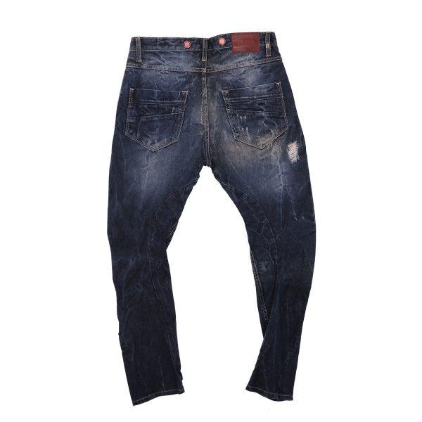 New Denim 11154 Ανδρικό Παντελόνι Τζίν Μπλέ 4