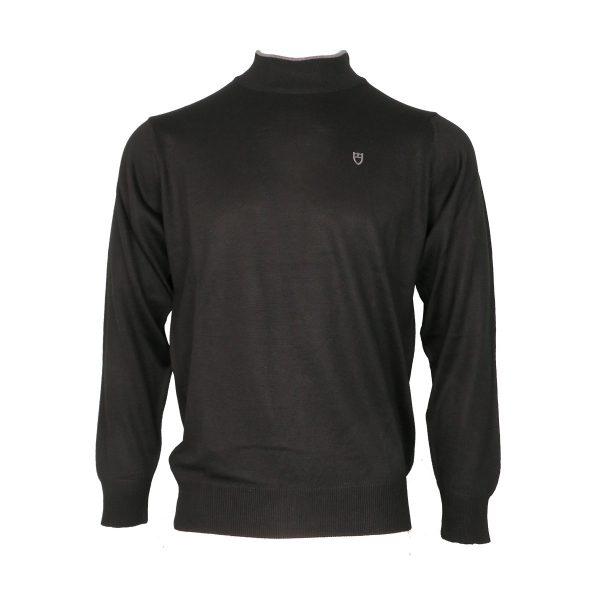 Unique 001 Λουπέτο Ανδρική Ζιβάγκο Μπλούζα Μαύρη 3