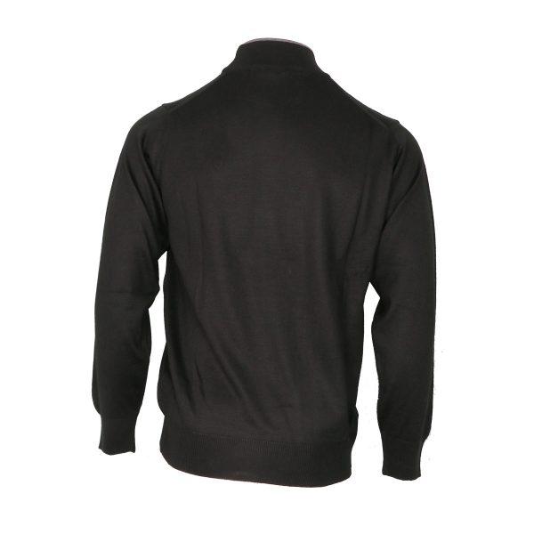 Unique 001 Λουπέτο Ανδρική Ζιβάγκο Μπλούζα Μαύρη 4
