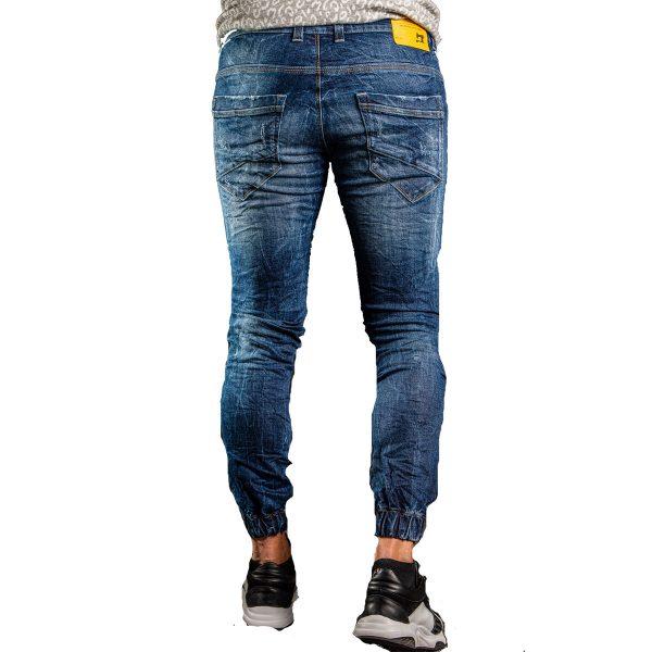 Profil 3009 Ανδρικό Παντελόνι Τζίν Με Λάστιχο 4
