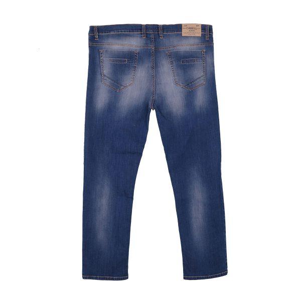 Cabell 1336-7F Ανδρικό Παντελόνι Τζίν Μπλέ Big Size 4