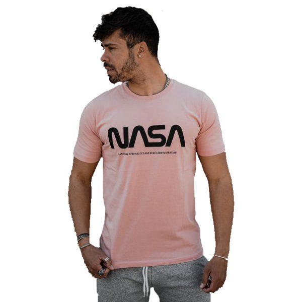 BODY MAX 1000 Ανδρική Μπλούζα Κοντομάνικη Ρόζ 3