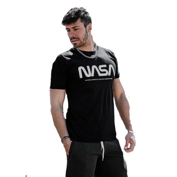 BODY MAX 1000 Ανδρική Μπλούζα Κοντομάνικη Μαύρο 3