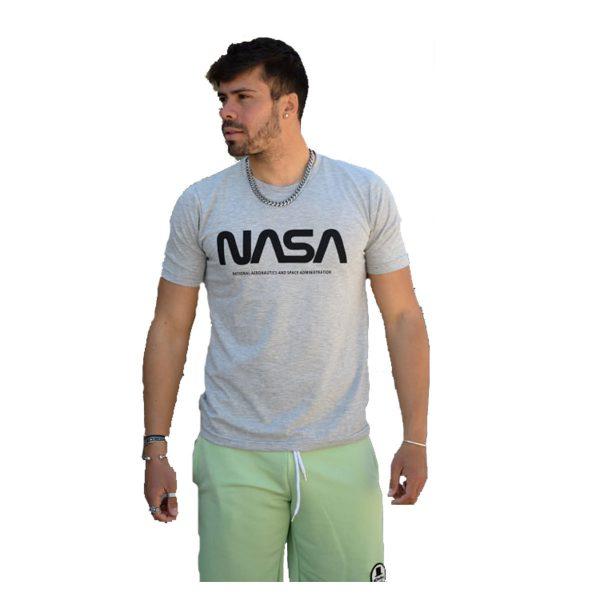 BODY MAX 1000 Ανδρική Μπλούζα Κοντομάνικη Γκρί 3