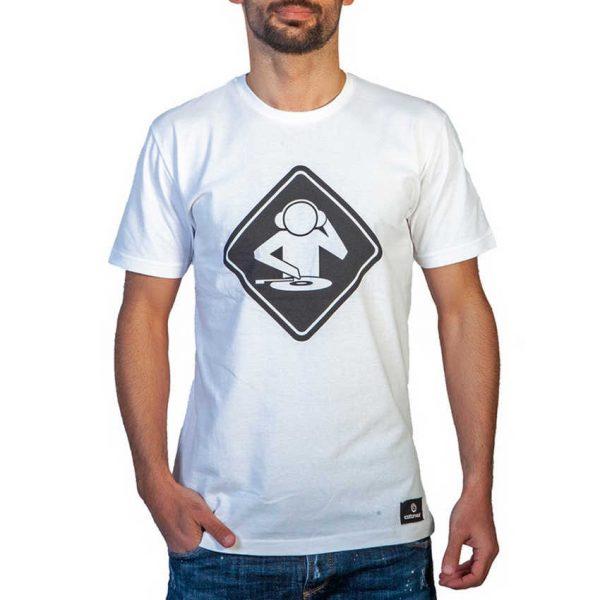 Cotton 4all 21-214 Ανδρική Μπλουζάκι Λευκό 3