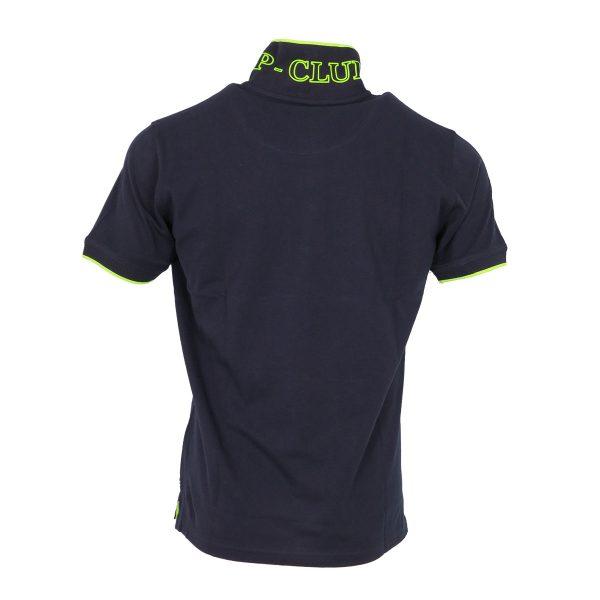 P/CLUB P2800  COL 298 Ανδρική Μπλούζα με Γιακά Μπλέ 5