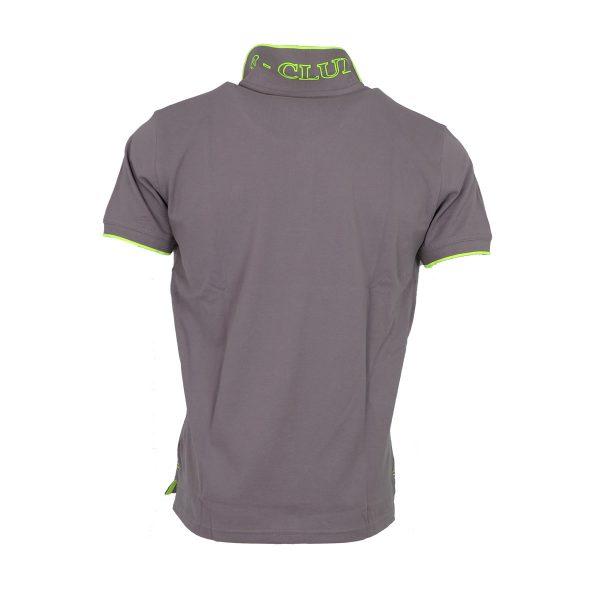 P/CLUB P2800 COL 460 Ανδρική Μπλούζα Με Γιακά Γκρί 5