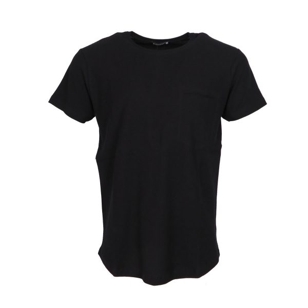 Everbest 212-943-0 Ανδρική Μπλούζα Μονόχρωμη Μαύρο 2