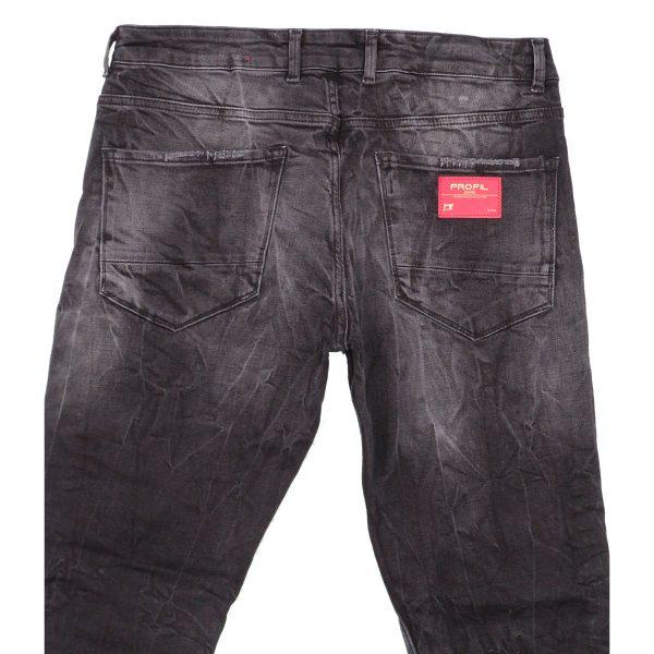 Profil 3033 Ανδρικό Παντελόνι Τζίν Μαύρο 5