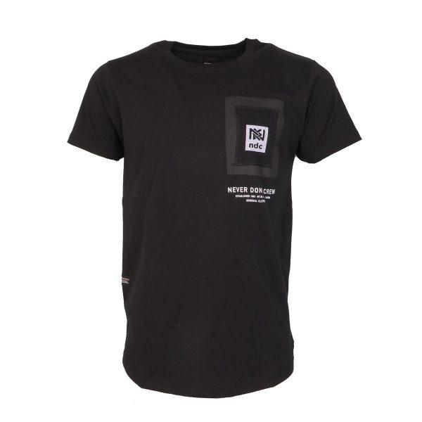Everbest 212-912-0 Ανδρική Μπλούζα Με Στάμπα Μαύρο 3