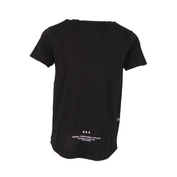 Everbest 212-912-0 Ανδρική Μπλούζα Με Στάμπα Μαύρο 5