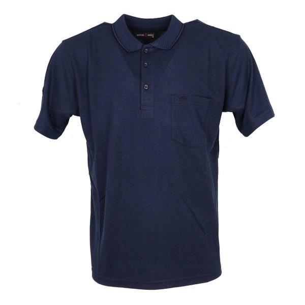 COTTON GREEN 8044A Ανδρική Μπλούζα Μπλέ Ανοιχτό 3