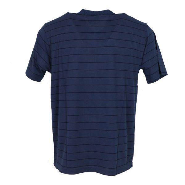 COTTON GREEN 8043Α Ανδρική Μπλούζα Με Γιακά Μπλέ-Ράφ 4