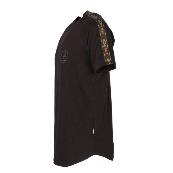 BODY MAX 3002 Ανδρική Μπλούζα Κοντομάνικη Μαύρο 4