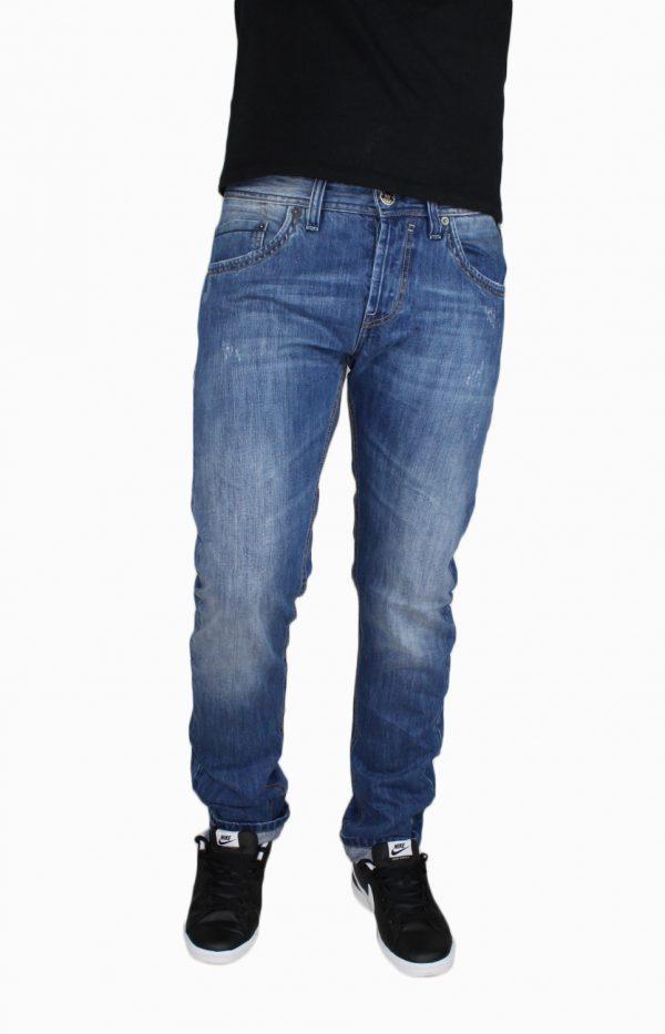 SHAFT 8514 Ανδρικό Τζίν Παντελόνι Μπλέ 3