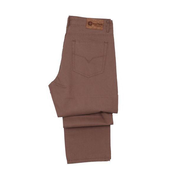 Privato M216-4 Mastino Ανδρικό Παντελόνι Μπεζ Πούρου 5