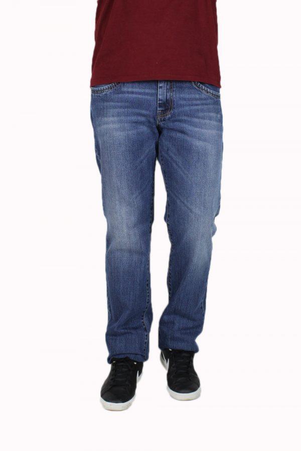 SHAFT M870 Ανδρικό Παντελόνι τζίν Μπλέ 3