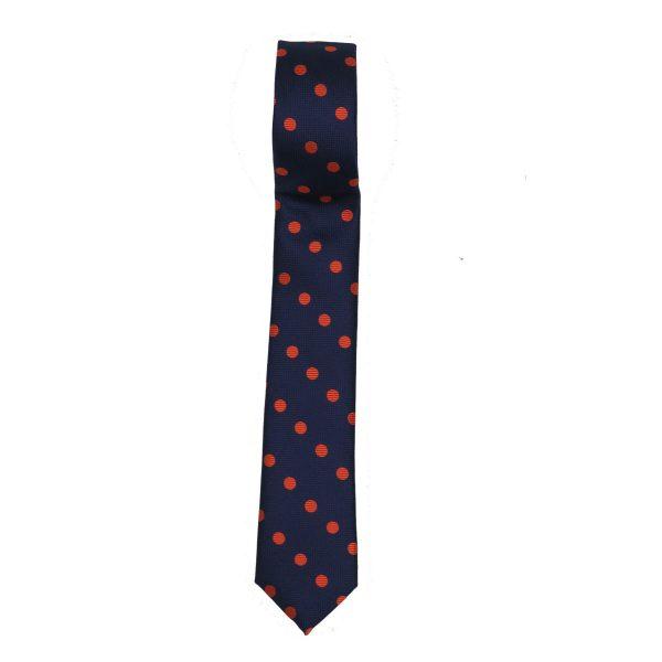 Endeson 013 Ανδρική Γραβάτα Μπλέ 3