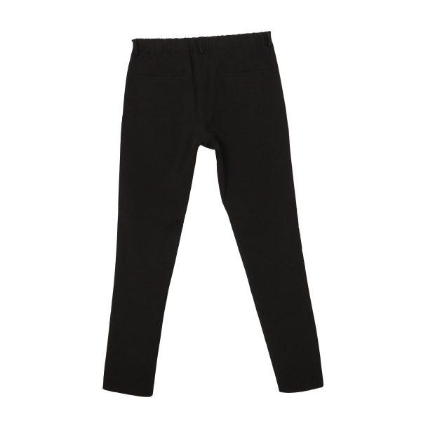 Endeson 515 Ανδρικό Νεανικό Παντελόνι Με Πιέτα Μαύρο 4