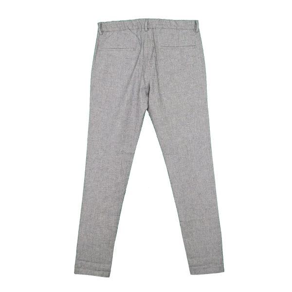 Endeson 510 Ανδρικό Παντελόνι Με Πιέτα Γκρί 5