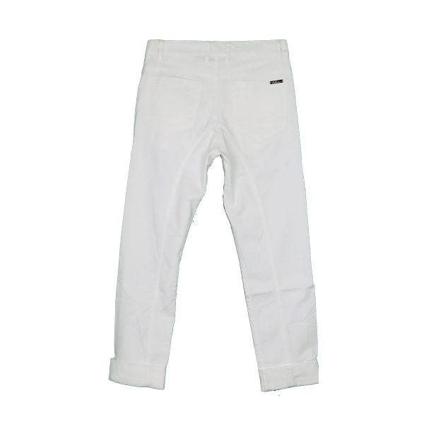 GABBIANO 02-4813 Ανδρικό Παντελόνι Τζίν Λευκό 4