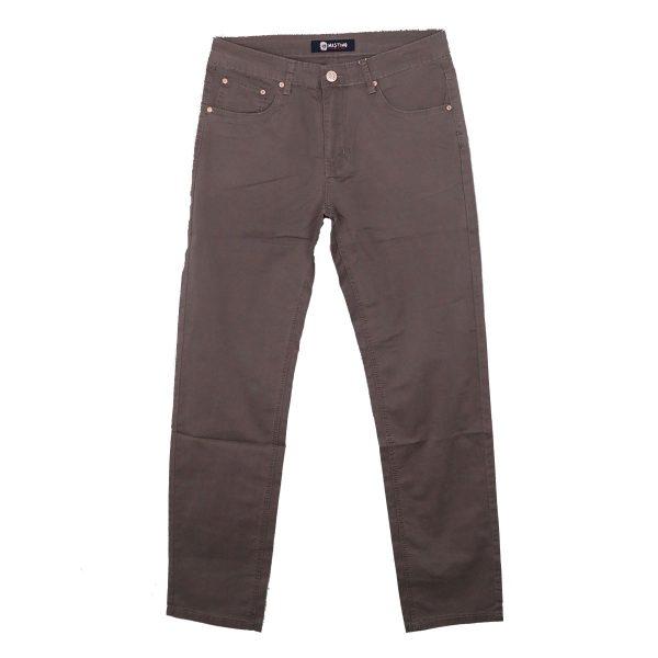 Privato Mastino H201-5 Ανδρικό Παντελόνι Γκρί Σκούρο 3