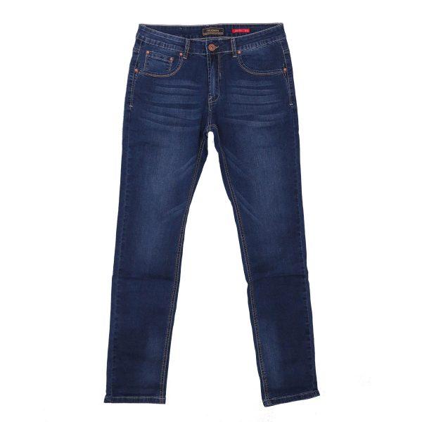 Privato TM22 Trueman Ανδρικό Παντελόνι Τζίν Λεπτό Μπλέ 3