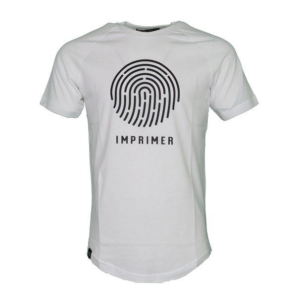ENDESON IMPRAIMER M105 Ανδρικό Μπλουζάκι Λευκό 3