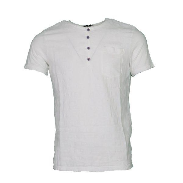 Privato Y5415 Ανδρικό Μπλουζάκι Λευκό 3