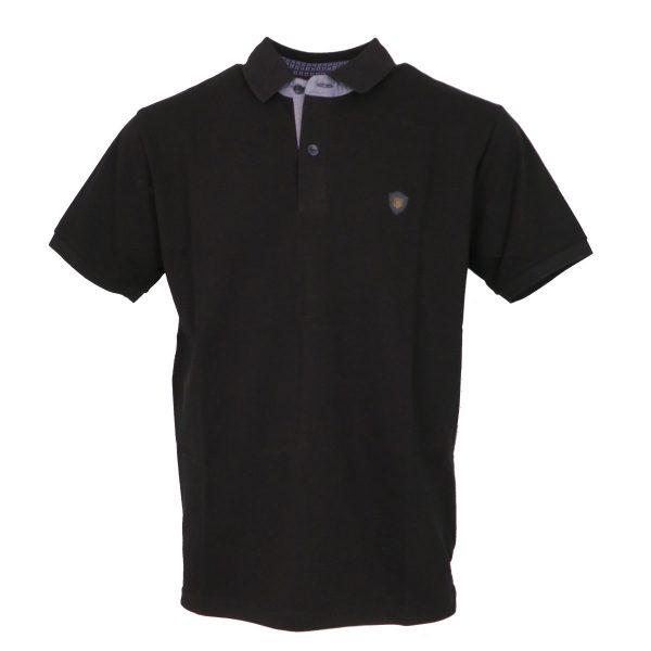 Everbest 212-838-0 Ανδρική Μπλούζα Με Γιακά Μαύρο 3