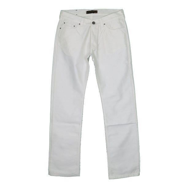 Hackers 9120 Ανδρικό Παντελόνι Λευκό 3