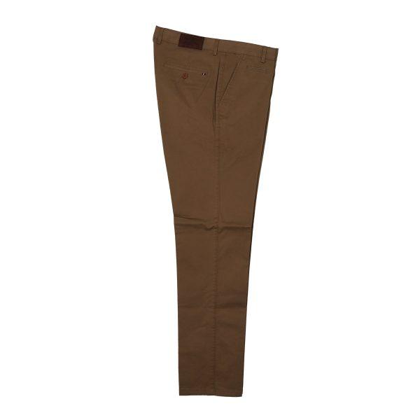 NEW YORK TAILORS 004.17.HUGO COL 52 Ανδρικό Παντελόνι Καπαρντίνα Χακί 4