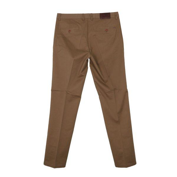 NEW YORK TAILORS 004.17.HUGO COL 52 Ανδρικό Παντελόνι Καπαρντίνα Χακί 5