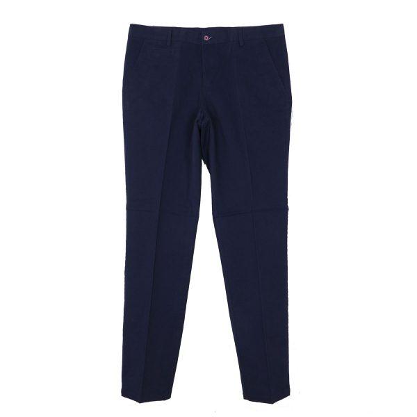 NEW YORK TAILORS 004.17.HUGO Ανδρικό Παντελόνι Μπλέ 3