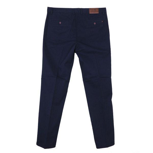 NEW YORK TAILORS 004.17.HUGO Ανδρικό Παντελόνι Μπλέ 4