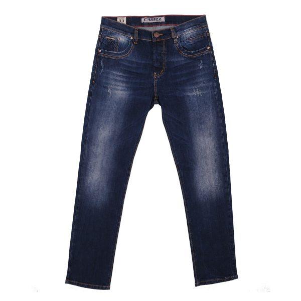 Cabell 333-10D Ανδρικό Παντελόνι Τζίν Με Φθορές Μπλέ 3
