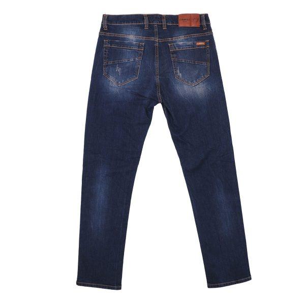 Cabell 333-10D Ανδρικό Παντελόνι Τζίν Με Φθορές Μπλέ 4