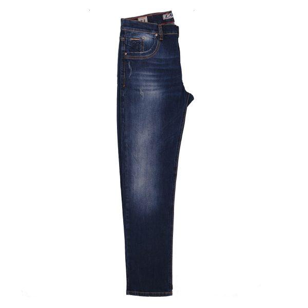 Cabell 333-10D Ανδρικό Παντελόνι Τζίν Με Φθορές Μπλέ 6