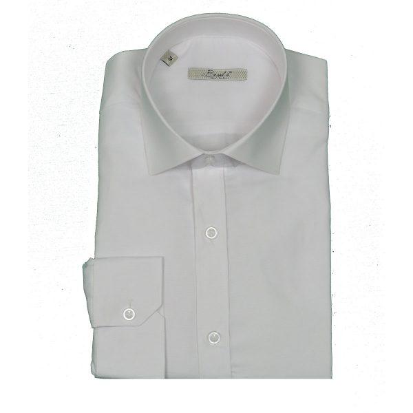 BRANDS K1504 Ανδρικό Πουκάμισο Λευκό 3