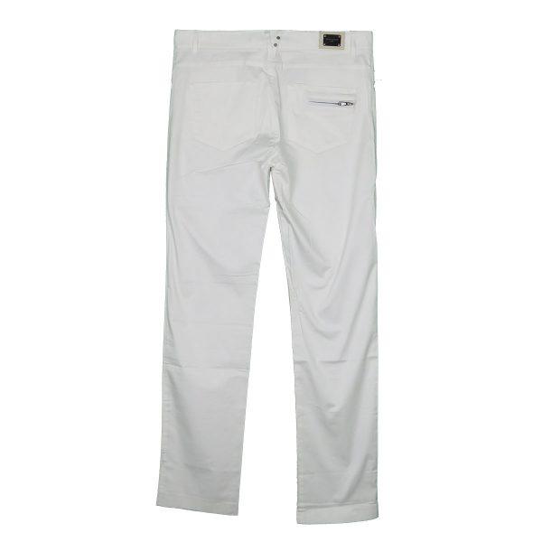 La Stagione 09-870 Ανδρικό Παντελόνι Λευκό 4