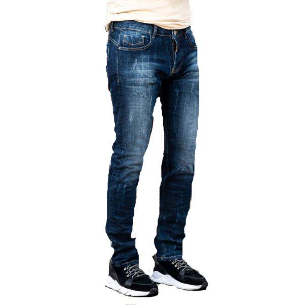 Profil 9001 Ανδρικό Παντελόνι Τζίν Μπλέ 3