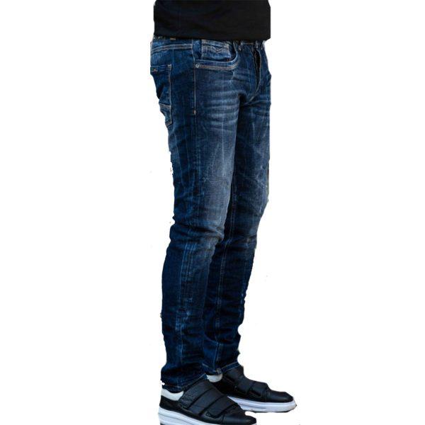 Profil 9000 Ανδρικό Παντελόνι Τζίν Μπλέ 4